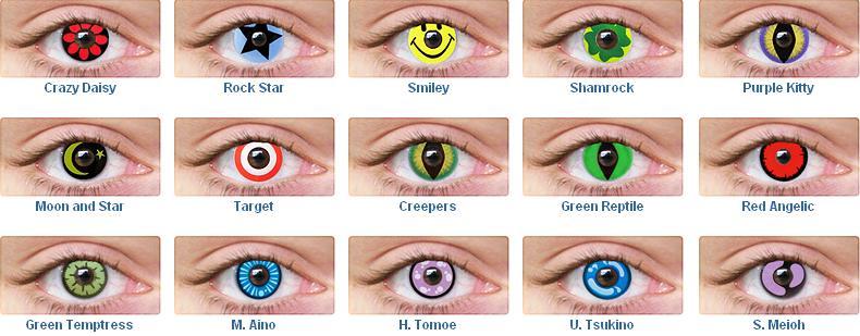 Линзы меняющие цвет глаз