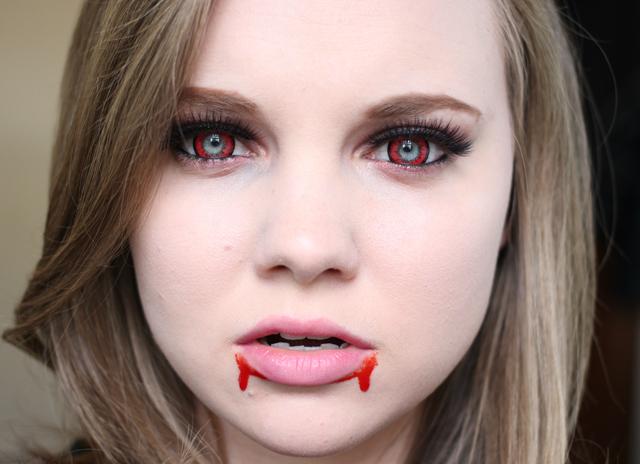 Грим вампира на Хэллоуин своими руками 4