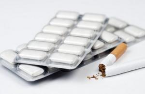 Никотиновая жевательная резинка  опасна для здоровья