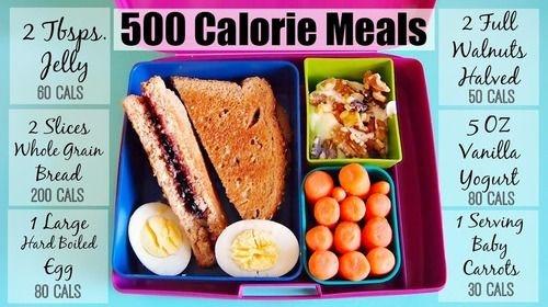 Завтрак на 500 калорий