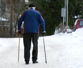 Прелести зимы: переломы и растяжения