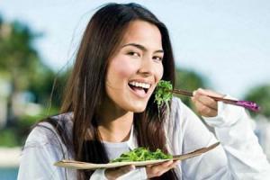 Шпинат - витаминный и низкокалорийный продукт