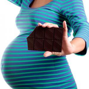 Пристрастие к шоколаду.