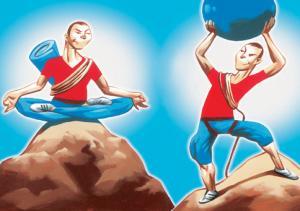 Пилатес против йоги: великий спор
