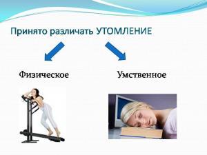 Утомление и переутомление. Критерии оценки тяжести и напряженности труда