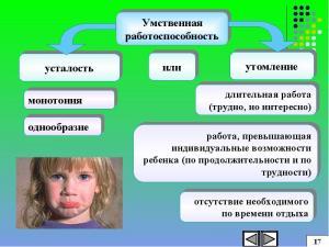 Физиологические особенности умственного и физического труда. Методы исследования