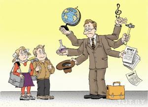 Основные факторы риска труда учителя