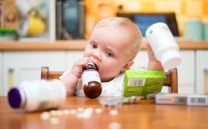 Что делать если ребенок выпил таблетки?