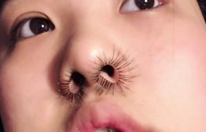 Наращивание волос в носу - следующий бьюти-тренд?