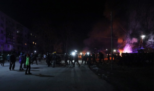 Бунт против 'короновирусных' на Украине