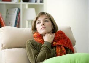 Ангина на язычной миндалине