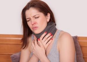 Катаральная ангина — патология без температуры