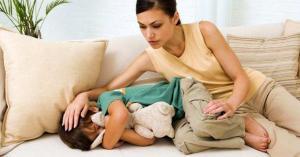 У ребенка болит голова в лобной части и глаза