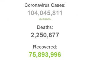Число вакцинированных в мире превысило 100 млн человек