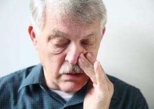 Заложенность носа при хроническом аденоидите