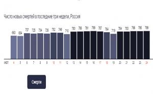 Повтор рекорда смертей от ковид в РФ