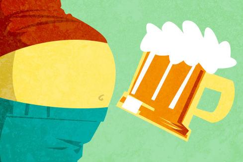 Пивной живот: существует ли на самом деле?