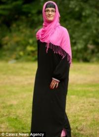Хиджаб спас британку от аллергии