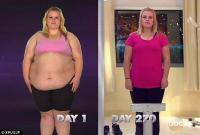 Американка сбросила 70 килограмм с помощью телепередачи